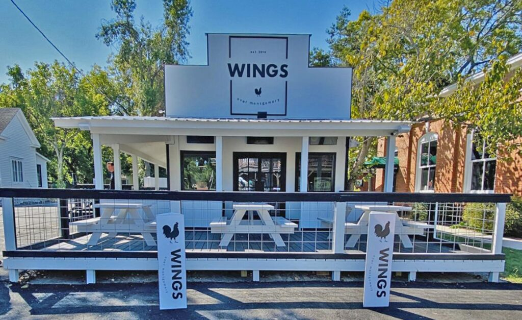Wings Over Montgomery Store Front